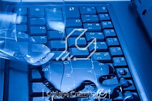 آب خوردگی لپ تاپ