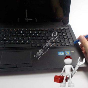 آموزش تعمیر کیبورد لپ تاپ لنوو
