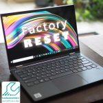 ریست فکتوری لپ تاپ لنوو