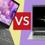 مقایسه لپ تاپ لنوو و ایسر